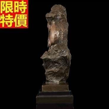 銅雕擺件 畢卡索-居家辦公室現代品味雕塑工藝品66v18[獨家進口][巴黎精品]