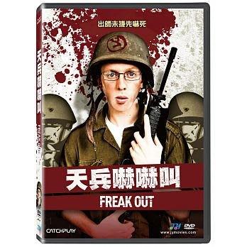 合友唱片 面交 自取 天兵嚇嚇叫!DVD Freak Out
