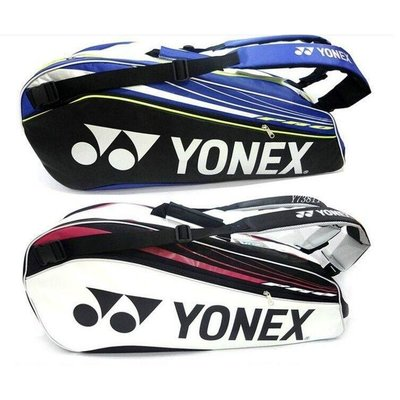 YONEX-BAG9226EX羽球袋 大 羽球袋YY9226羽球袋 6支裝雙肩羽球袋 時尚 羽球包雙肩 YY羽球拍袋