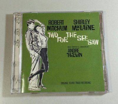 """""""怨女癡男(Two For The See Saw)""""- Andre Previn(11-1),美版"""