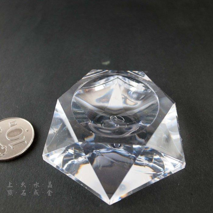 『上久水晶』【壓克力球座】【寬6.5cm】【適用:60mm~95mm球】【15元一個】
