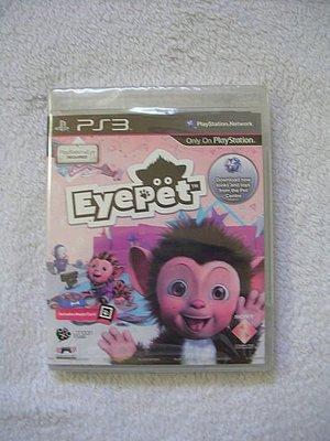 全新PS3 寵物猴寵物視訊 (MOVE ) EYEPET
