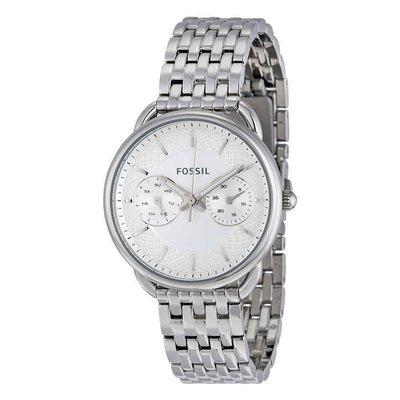 【換日線】女錶 Fossil Tailor Multi-Function White Dial Ladies Watch ES3712