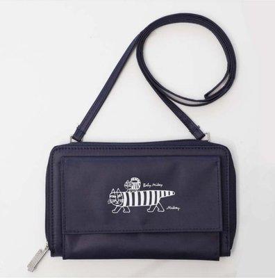[瑞絲小舖]~日雜cookpad plus附錄LISA LARSON多功能收納側背包 斜背包 單肩包 肩背包 手機包