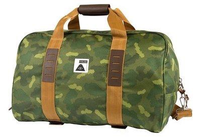 =CodE= POLER CARRY ON DUFFEL 手提/肩/側背旅行袋(綠迷彩).612014.戶外登山露營.駝