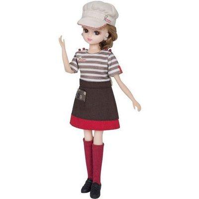 莉卡配件 Mister Donut 制服_ LA82626/莉卡MisDo甜甜圈禮盒/歡樂童年