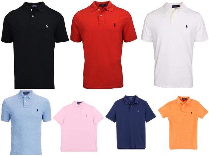 Ralph Lauren Polo男生polo衫  尺寸XS-2XL 東區 AF 正品專賣店