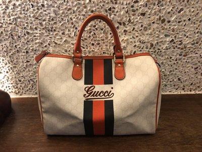 Gucci波士頓包(PVC)