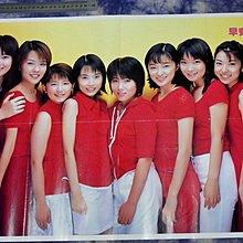 紅色小館~~明星海報E4~~早安少女組1998