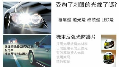 機車反強光防護片 反強光防護片 機車配件 遠光燈刺眼 防遠光燈 防大燈