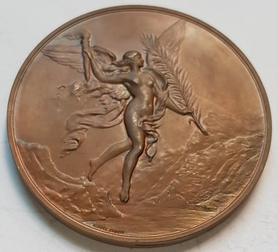 瑞士銅章 1891 Swiss Bern Perpetual Alliance Medal