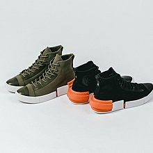 27.5全新正品 Converse All Star Disrupt CX HI 軍綠色白橘灰色