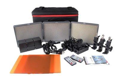 來來相機 Aputure【HR672KIT-WWS 三燈套裝組】LED 攝影燈 薄型設計 CRI 95+還原真實色彩
