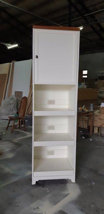 美生活館 鄉村風格 茵儷 單門 三拉板 雙色 電器櫃 收納櫃 碗盤櫃 櫥櫃 廚具櫃