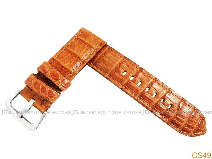 金鐸精品~CS49 沛納海 PANERAI 勞力士 ROLEX OMEGA Bell&Ross..等各式手工客製化皮錶帶