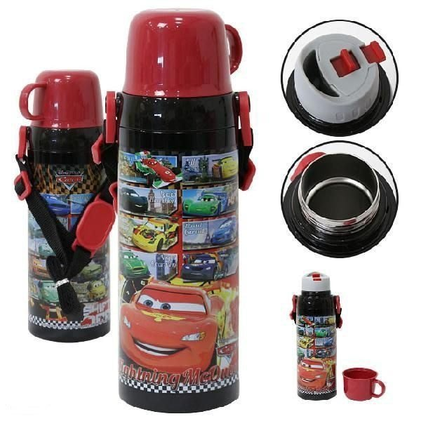 剁手價 出清CARS 795 不鏽鋼保冷 保溫水壺 直飲式杯蓋式 2用 600ml日本正版 特價出清