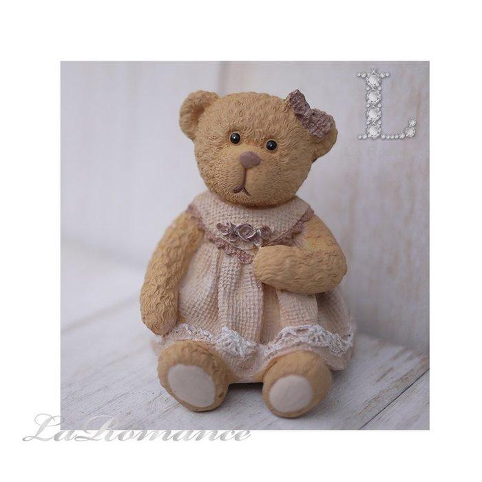 【義大利 Cupido & Company 特惠系列】 咖啡色女生情侶熊 (中) / 泰迪熊 / 童趣動物