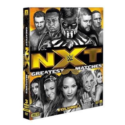 ☆阿Su倉庫☆WWE摔角 NXT's Greatest Matches Vol. 1 DVD NXT最佳賽事精選專輯