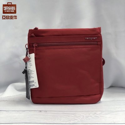 ☆東區亞欣皮件☆Hedgren - INNER CITY輕量旅行側背包-HIC112 (紅)