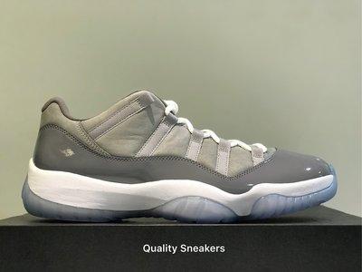 現貨 - Jordan 11 Retro Low Grey 灰 酷灰 US 12 528895-003