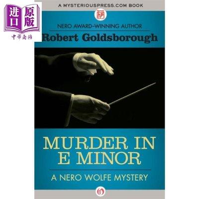 Murder in E Minor Nero Wolfe Mysteries 英文原版 大偵探尼洛沃爾夫系列 E小調謀殺