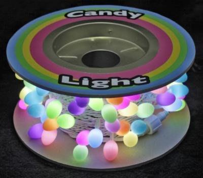 【山野賣客】Candy Light 10米彩色燈串-馬卡龍 10m LED燈 露營燈 燈條 燈飾