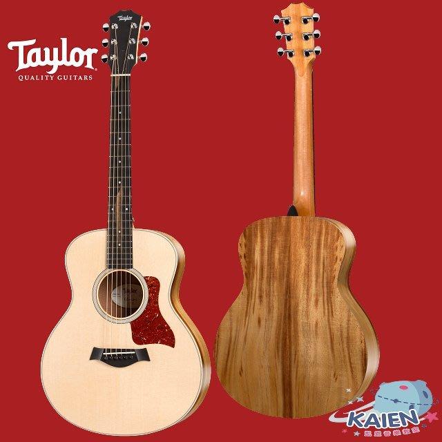 『凱恩音樂教室』免運分期 Taylor 專賣 GS Mini E-Koa 面單 相思木 側背板 單板 旅行吉他 36吋