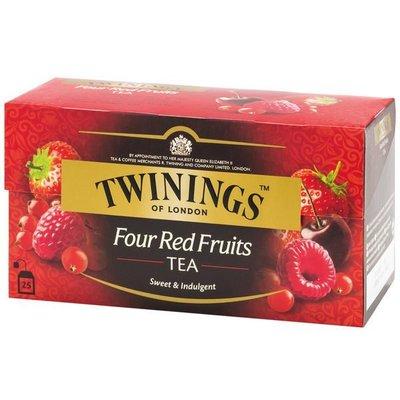 唐寧四紅果茶包 英國皇室御用茶  2g*25入/盒-【良鎂咖啡精品館】