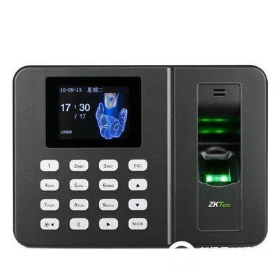 哆啦本鋪 打卡鐘 智慧指紋考勤機手指打卡機上班簽到機打卡器指紋式 D655