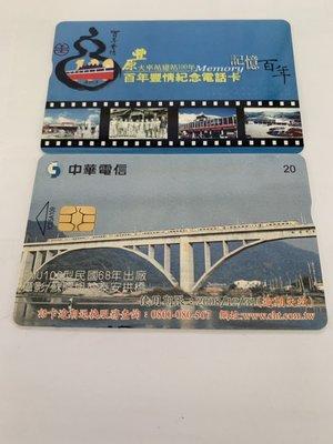 豐原車站100年紀念電話卡