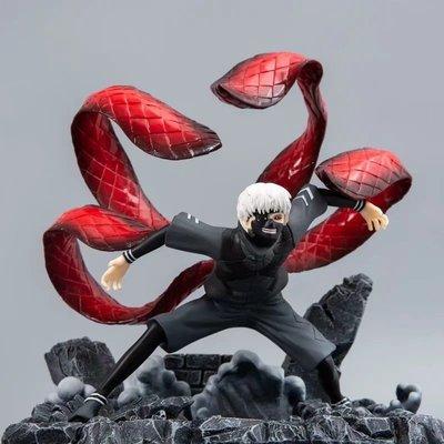【紫色風鈴3】東京喰種GK 眼罩 金木研 有馬貴將 雕像模型盒裝港版 無證