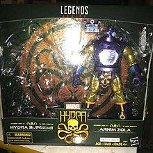 Marvel legends Arnim Zola SELECT NECA SHF MEZCO DC Universe Avengers BAF