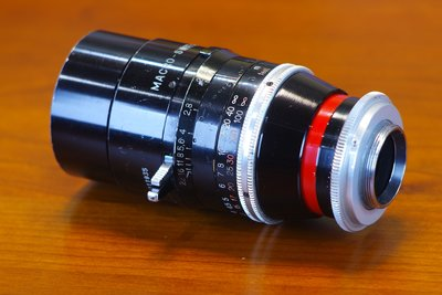 Kern Macro-Switar 75mm F1.9 (C-mount 瑞士電影鏡) M4/3 NEX可轉接