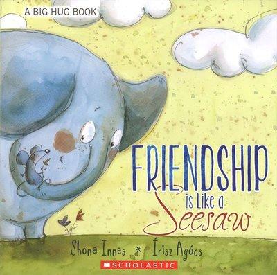 *小貝比的家*FRIENDSHIP IS LIKE A SEESAW/平裝/3~6歲/友誼 Friendship
