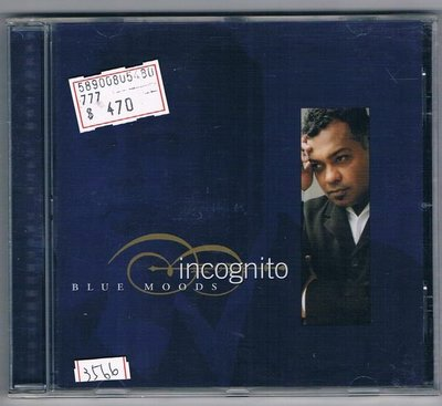 [鑫隆音樂]西洋CD-匿名者Incognito:憂鬱心情Blue Moods(全新) 免競標