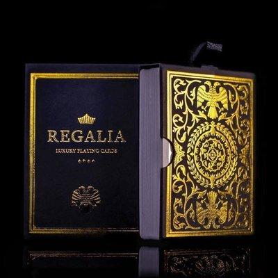 【天天魔法】【S924】正宗原廠~Shin Lim最新撲克牌~王權(Regalia Playing Cards)