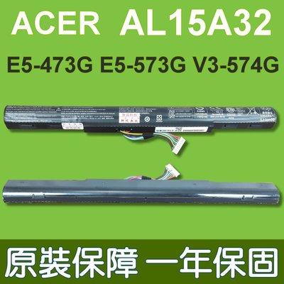 宏碁 ACER AL15A32 原廠電池 適用 E5-473G-59L5 E5-473G E5-573G-54G6 台中市