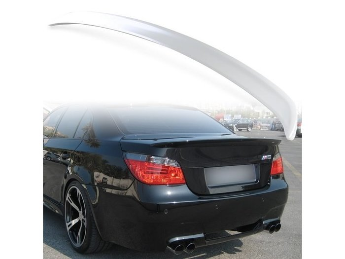 BMW 寶馬5系列 E60 2004-2010年 適用 ABS尾翼 後擾流板 噴漆件 TS-27174
