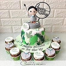 【Connie's Home Sweets】公司生日蛋糕專門店 Company Logo Cake 手工蛋糕 100 days cake