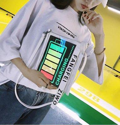 包包 网红包包女新款韩版抖音嘻哈包包女...