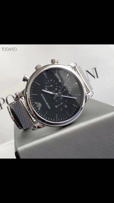 ARMANI 全新潮流時尚男士石英腕錶 附盒子 禮品袋