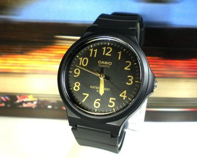 天王星運動精品館 CASIO手錶 時尚簡約 休閒指針錶 大錶徑4CM 男女適用【↘460】MW-240-1B2