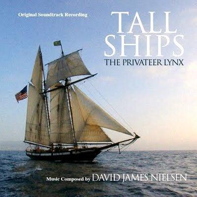 """高桅帆船 Tall Ships The Privateer Lynx""- D J Nielsen,全新歐版,Swe39"