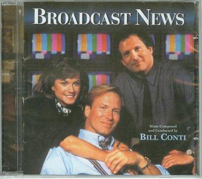 """""""收播新聞(Broadcast News)""""- Bill Conti(18),全新美版"""