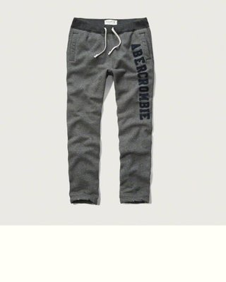 A&F 男生CLASSIC SWEATPANTS運動長褲現貨 SM號在台灣