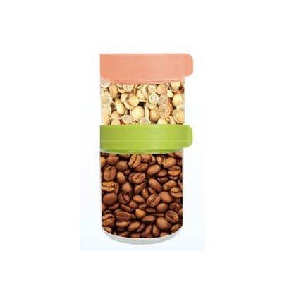 【AKWATEK】積木玻璃保鮮罐250ML+400ML 積木儲物罐  保鮮罐 零食罐 糖果罐 冰箱門 收納罐 全新股東會贈品