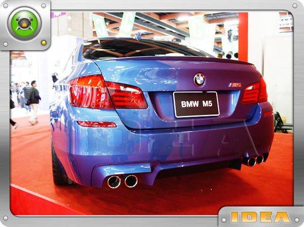 泰山美研社A1993 BMW 寶馬 F10 F11 M-TECH 前保桿+側裙+後保桿台製一組