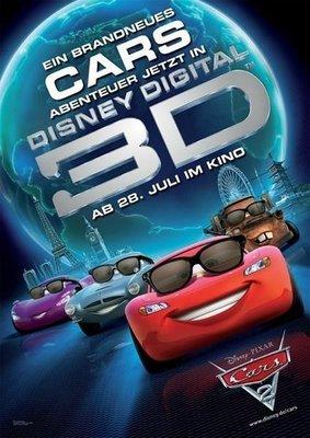 【藍光電影】賽車總動員2 3D 汽車總動員2 2D+3D 3-019