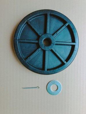 【勁力空壓機械五金】 ※ 復盛 復信 兆盛 寶熊 松沛 晶鑽 VA-80 TA-80 桶輪 附 插銷 墊片 空壓機零件