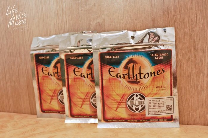 《弦琴藝致》3件免運 美製 冰火弦 Kerly Strings Earthtones .11 紅銅 民謠吉他弦